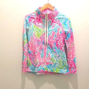 Lilly Pulitzer Skippers Printed Pullover size xs